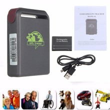 MINi GPRS TK102 GSM GPRS online real time tracking 4 bands mini Personal GPS Tracker TK102B SMS Car Alarm Device