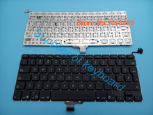 "New French Canadian keyboard For Apple Macbook pro 13"" 13.3'' A1278 Unibody MC700 MC724 2009-2013 year French Canadian keyboard(China)"