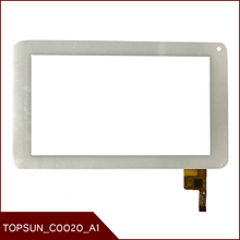 Original 7'' Inch Tablet PC TOPSUN_C0020_A1  coo2o Touch Screen Touch Panel Digitizer Glass Tablet PC MID Free shipping