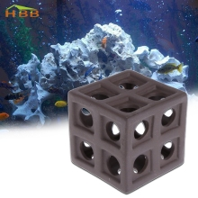 High Quality Ceramic Hiding Cave Fish Shrimp Crab Shelter Breeding For Aquarium Fish Tank New jul3(China)