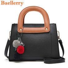2017 Baellerry New Design Female Handbags Luxury Women Shoulder Bags Famous Brands Crossbody Bags Fasion Socialite Panelled Flap