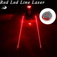 Tail light (5LED+2Laser) Cycling Safety warning Bicycle Rear Lamp Bike Laser bike Light Bicicleta Caution TL0218 - The China Store store