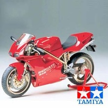 Assembling Motorcycle Model Tamiya 14068 Ducati 916 1/12