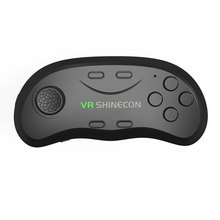VR SHINECON Universal Multi-function Bluetooth 3.0 Wireless Game Pad Remote Controller Shutter  Mouse for Android iOS Windows