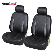 AUTOYOUTH Fashion Luxury PU Leather Car Seat Cover Universal Fit Most Vehicle Seat Covers for Toyota Lada Renault Audi Peugeot(China)