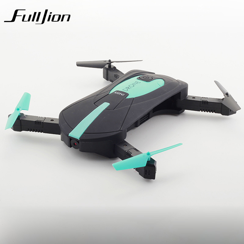 Fulljion RC Helicopter Selfie Drone HD Wifi Camera Remote Control Toys Quadrocopter Radio App Control Dron Mini USB Charger