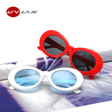 UVLAIK Women's Clout Goggles Glasses UV400 Mirrored NIRVANA Kurt Cobain Sunglasses Women Men Fahion Female Male Sun Glasses