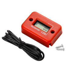 20 pieces/ lot Free Shipping Waterproof Moto Counter Tachometer RPM Meter Motor Glider Snowmobile(China)