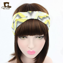 2016 new New Ear Cotton Winter Headband for Woman and Girl Hair Fashion Turban Headband for Girl Headwrap