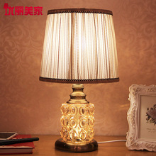 TUDA 2017 Table Lamps Contemporary Table Lamp For Bedroom European Bedroom Living Room lamp Bedside lamp Glass Table Decoration