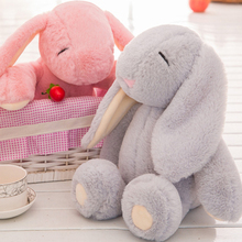 Infant Puzzle Toys Cute Bond Rabbit 4 Colors Plush Toys Baby Bed Head Toys Bunny Doll Doll Z0013