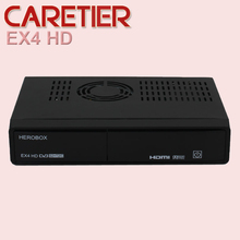 High quality HEROBOX EX4 HD decoder DVB-S2+C/T2 with BCM7362 751MHZ Dual-core solution cheaper than Zgemma star H2 5pcs/lot DHL