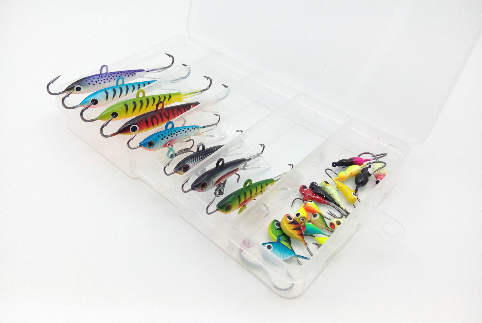 26pcs/lot Ice Lures Northland Mormyshka Clam Blade Jigs Moonska Similar Items  Mini Lead Fish Hook Ice Fishing<br>