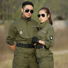 Uniforme Fardas Militar Tactical Army Suit Tatico Combat US Winter Uniforms Military Camouflage CS Clothing For Men And Female(China)