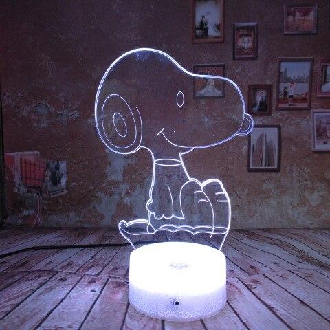 3D Illusion Light Dibujos Animados Crayon Shin Chan Luz Nocturna Led Figura Ni/ños Ni/ños Ni/ños Regalo Manga Japon/és Anime L/ámpara De Escritorio Dormitorio