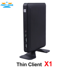 X1 Thin Client Mini PC Workstation Mini PC with All winner A20 Dual-core 1.2 Ghz CPU Linux Windows support(China)