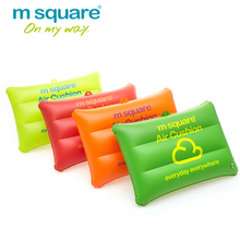 M Square Travel Accessories For Air Pad Portable Waterproof Inflatable Air Cushion Headrest Pillow