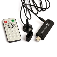 RTL-SDR / FM+DAB / DVB-T USB 2.0 Mini Digital TV Stick DVBT Dongle SDR with RTL2832U & R820T Tuner Receiver + Remote Control