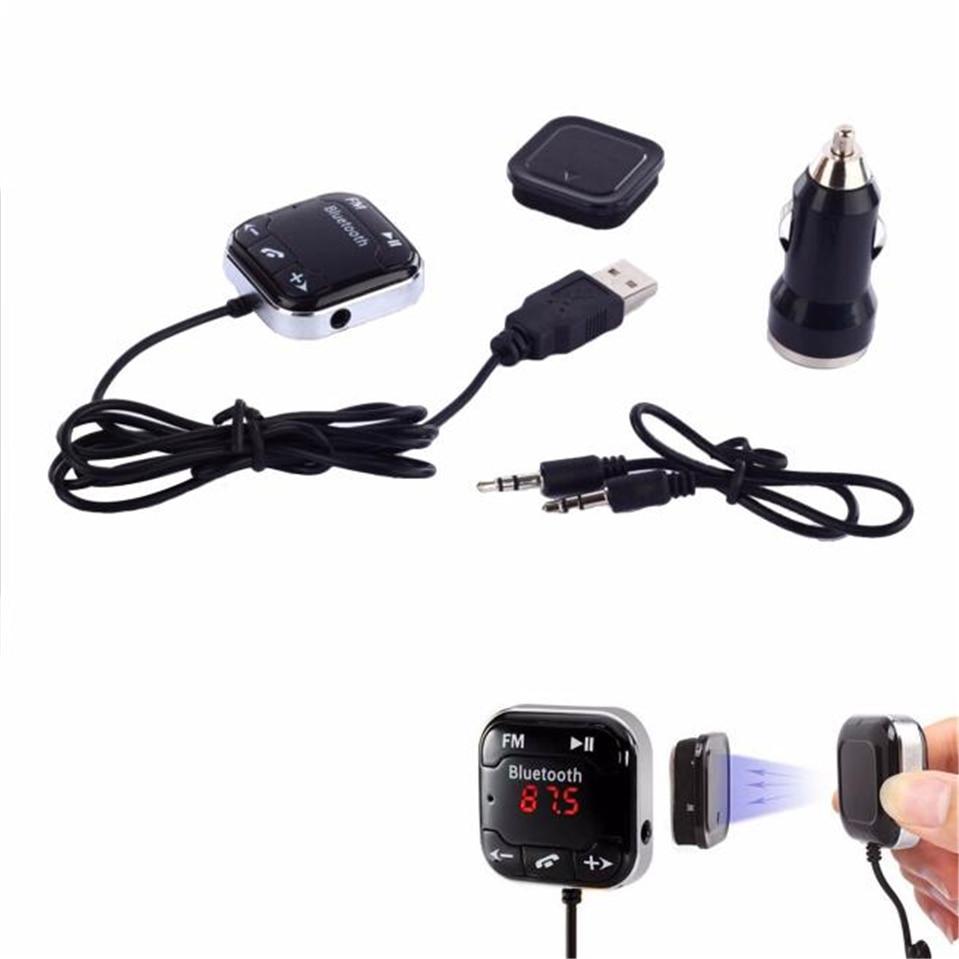 Handsfree Car Kit Wireless Bluetooth FM Transmitter USB SD LCD Remote MP3 Device