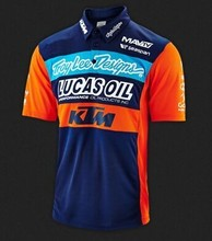 HOT MX KTM TLD Moto Racing short T-shirt sports MX Motocross jersey Cycling shirt TEAM Motorcycle Jersey