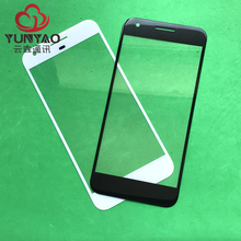 10pcs New Outer LCD Front Screen Glass Lens Cover Replacement Parts Case For Google Pixel Touch Screen(China)