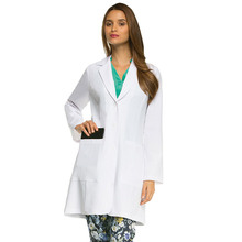 customized hospital uniform lab coat medical clothing 30pcs above international popular design base on color board(China)
