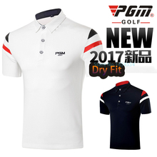Brand Golf Sportswear Shirt Polomens Men Golf Polo Shirts Dry Fit Men's Short Sleeve Shirt Summer Clothing Table Tennis Shirt(China)