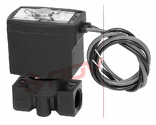 POC5 POC6 household normally closed plastic pp valve 100psi water solenoid valve
