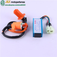Buy RACING DC CDI GY6 50 125 150 Ignition Coil GY6 Scooter Moped 50CC 150CC /For Scooter Moped performance racing CDI for $7.90 in AliExpress store