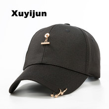 Xuyijun Summer Soft and ventilativen male baseball cap hip hop 5 panels snapback hat for women casquette gorras bones dad cap(China)