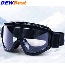 DEWBest HS699 black Safety Glasses Shock resistant Transparent Goggles Anti Dust Glasses Anti-wind Anti Sand Protective Eyewear(China)