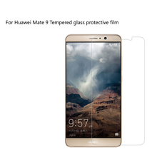 Msvii Brand 9H for premium tempered glass huawei mate 9 mate9 screensaver for reinforced protective film huawei mate 9 glass.(China)