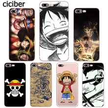 Luffy ONE PIECE Zoro Japanese Anime Phone Case for iphone 7 8 6S 6 PLUS X 5S 5 SE 7PLUS 8PLUS Silicone Soft Clear Capa Capinha(China)