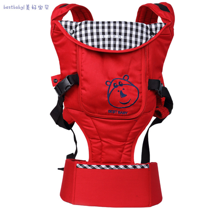 Best baby backpacks &amp; carriers front carry cotton Plaid load bearing 15 kg Stool four seasons infantino baby carrier high end<br>