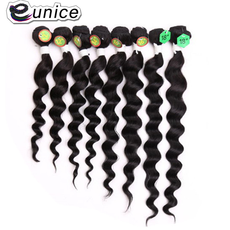 Loose Deep Wave Human Hair  peruvian virgin hair weft  (1)