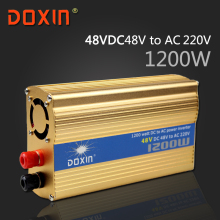 DC 48V to AC 220V 1200W Watt W Auto Car Solar Power Inverter Universal Socket DC to AC inverter DOXIN ST-N046