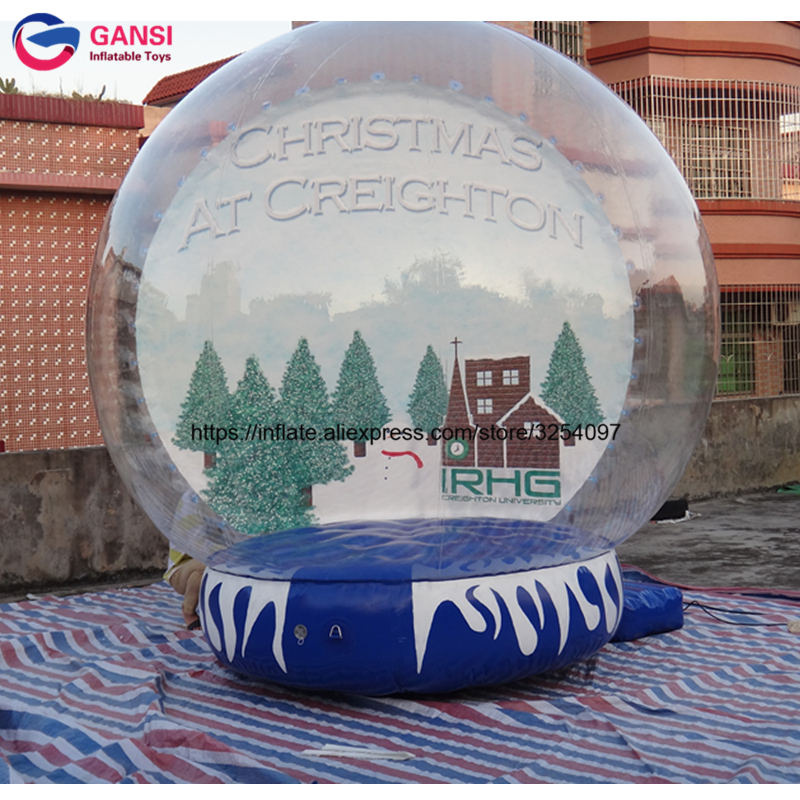 inflatable snow globe30