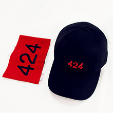 2017 Men Women Hat 424 Digital Embroidery Cap bent-brimmed Four Two Four cap baseball cap Get armband Tops Caps IACB Store