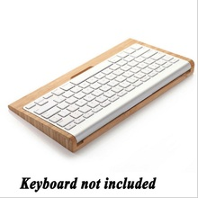 100% Brand New Wooden Stand Dock Keyboard Creative Holder Stents For imac Macbook Pro macbook Air Computer Wireless Keyboard