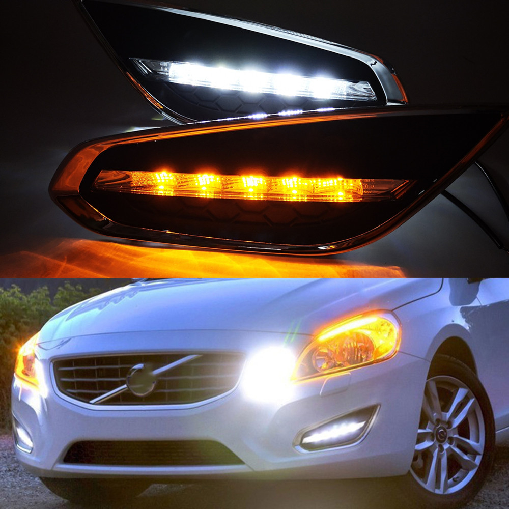Volvo C30 2010-2013 Daytime Running Lamp DRL Pair Left /& Right