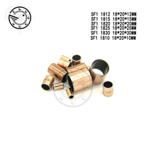 Buy Free shipping 10Pcs SF1 SF-1 1810 1812 1815 1820 1825 1830 Self Lubricating Composite Bearing Bushing Sleeve 18*20*10 18*20*20