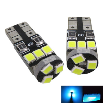 WLJH 9pc 2835 SMD Led Car Interior Light Bulb Lighting Package for Mazda 6 2003 2004 2005 2006 2007 2008 Crystal Blue Pure White