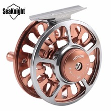 SeaKnight Honor Fly Fishing Reels 3/4 5/6 7/8 9/10 Machined Aluminum Full Metal Fly Fishing Wheel Saltwater Freshwater Fishing(China)