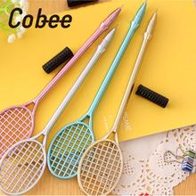 Cobee Creative Badminton Pen Badminton Racket Gel Ink Pen cartoon stationery kawaii school Office supplies