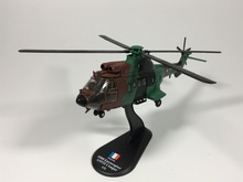 Amer com 1:72 French Army Military Helicopter 2000 Eurocopter AS532 Cougar Diecast Airplanes Model