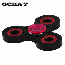 Buy OCDAY Colorful Tri Fidget Spinner Intermediate Shaft Bearing Fingertip Gyro Spiral Decompression Stress Relief Toys Hand Spinner for $3.00 in AliExpress store