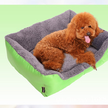 Pet Dog Bed Fall and Winter Warm Dog House Soft Nest Kennel Cat Puppy Sofa Mat 3 size for Small Dogs Large Dogs Pet Supplies