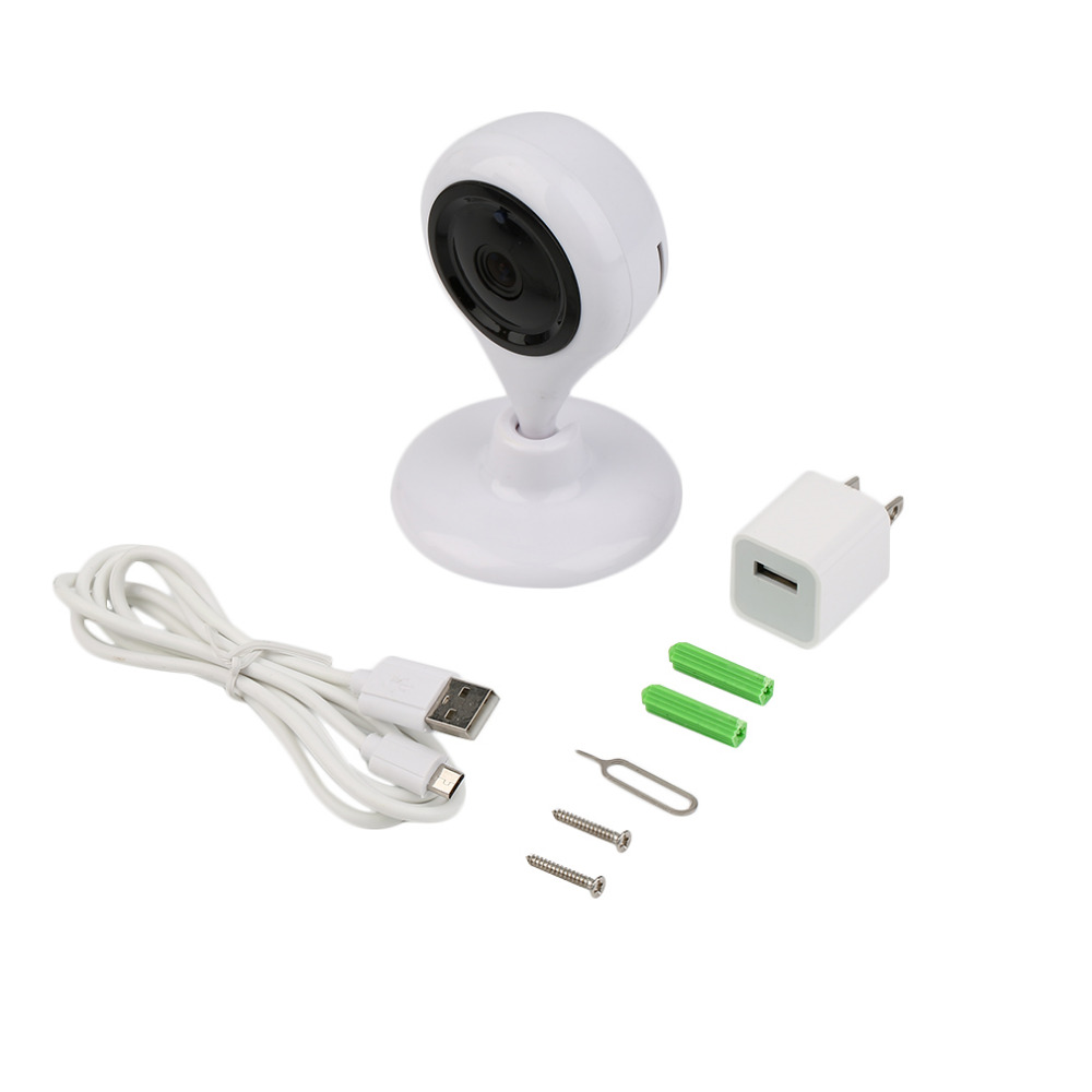 Home Security Water Drops Shape Network Remote Infrared WiFi Monitoring Camera Night Vision 660S-960P-3.6mm 1.3 Million Pixels<br>