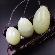 Natural Jade Eggs Crystal Yoni Egg for Women Health Care Kegel Exercise Massager Sexy toys(3pcs/set)Ben Wa Ball