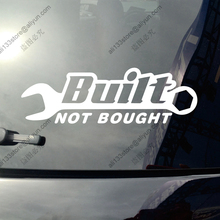 Built Not Bought JDM Drifted Race Funny Car Truck Vinyl Decal Bumper Sticker die-cut,pick color and size!